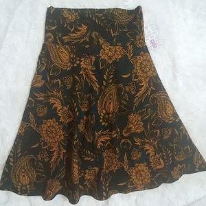 NWT LuLaRoe Azure Fall/Winter Skirt M 6-8